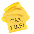 Tax Time — Stock Photo #6067884