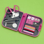 Travel Sewing Kit — Stock Photo