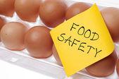 Concetto di sicurezza alimentare — Foto Stock
