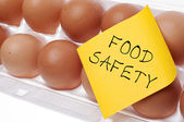 Food Safety Concept — Foto de Stock