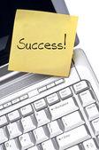 Conceito de sucesso — Fotografia Stock
