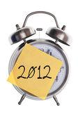 Conceito de tempo de 2012 — Fotografia Stock