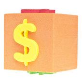 Segno del dollaro — Foto Stock