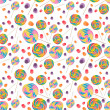 Candy Seamless Wallpaper Background — Stockfoto #6168756