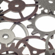 Stock Photo: Cog Wheel Gear Background