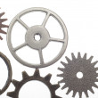 Cog Wheel Gear Background — Stock Photo