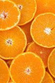 Oranges background — Stock Photo
