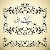 Vintage frame — Vettoriale Stock