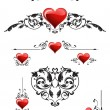 Set vector for valentines day - Stock Vector