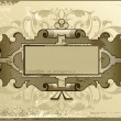 Olden background - Stock Vector