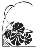 Art nouveau — Stok Vektör