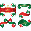 Set of christmas banners — Stock Vector #5571060