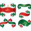 Royalty-Free Stock Vector Image: Set of  christmas banners