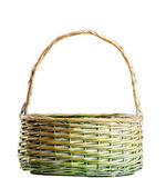 Wattled basket — Stock Photo