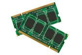 Computer memory modules. — Foto de Stock