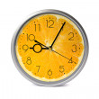 Orange fruit clock. — Stock Photo