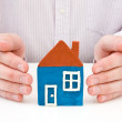 Royalty-Free Stock Photo: Real property or insurance concept.
