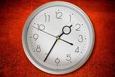 Wall clock. — Stock Photo