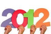 Año 2012. — Foto de Stock