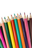 Close up of color pencils. — Stock Photo