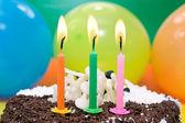 Happy birthday cake. — Stock Photo