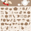 Food icon5 - Stock Vector