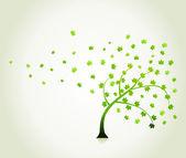 Park trees6 — Stock Vector