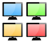 значок tv задать вектор — Cтоковый вектор