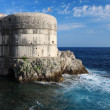 Fortress Bokar in Dubrovnik, Croatia — Stock Photo