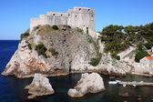 Fortress Lovrjenac in Dubrovnik, Croatia — Stock Photo