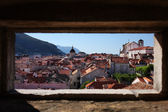 Casco antiguo de dubrovnik — Foto de Stock