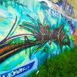 Colourful Urban Art — Foto Stock
