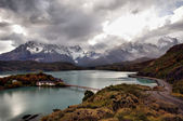 Patagonian landscapes — Stock Photo