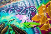 Colourful Urban Art — Stock Photo