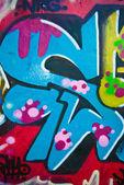 Colourful Urban Art — Stock Photo