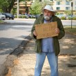 Homeless Beggar — Stock Photo #5569342
