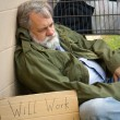 Stock Photo: Hopeless Homeless