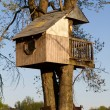 Childrens Treehouse - Stock Photo