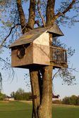 Childrens Treehouse — Stock Photo