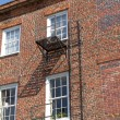 Old Fashioned Fire Escape — Stock Photo