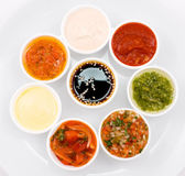Sauces palette — Stock Photo