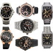 Set of men's watches — Foto Stock