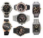Set of men's watches — Stockfoto
