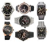 Set of men's watches — Stock Photo