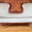 Antique sofa - Stock Photo