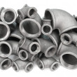Female pipe bends — Stock Photo #6347749