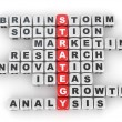 Conceptual image of strategy. — Stock Photo