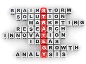 Imagen conceptual de la estrategia. — Foto de Stock