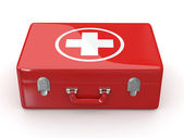 First aids. Medical Kit. 3d — Stock Photo