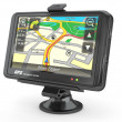 Stock Photo: Navigation system. Gps. 3d